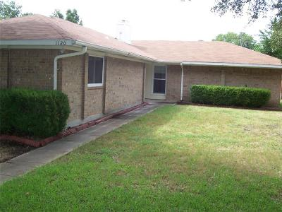 Richardson  Residential Lease For Lease: 1120 Southwestern Drive