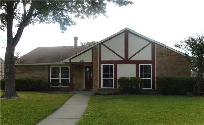 Plano Single Family Home For Sale: 1104 Cherokee Trail