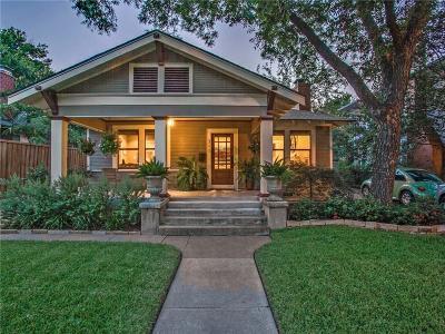 Dallas Single Family Home For Sale: 311 N Edgefield Avenue
