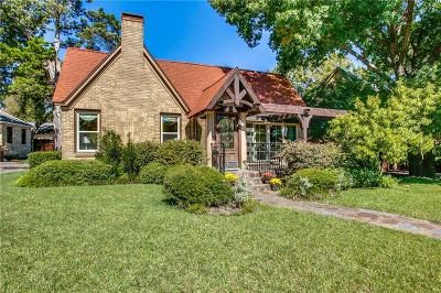 Dallas Single Family Home For Sale: 1905 Old Orchard Drive