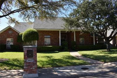 Dallas Single Family Home For Sale: 4022 Cobblers Lane