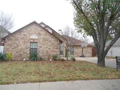 Mesquite Single Family Home For Sale: 2509 Cottonwood Drive