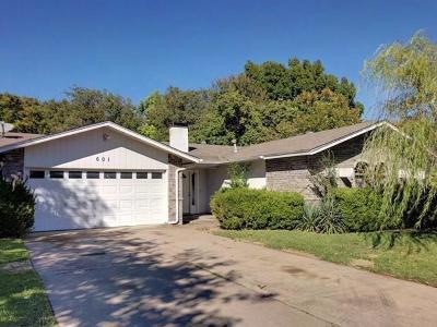 Arlington TX Single Family Home For Sale: $129,900