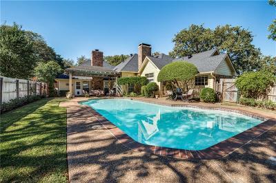 Highland Village Single Family Home For Sale: 2430 Briarhill Boulevard