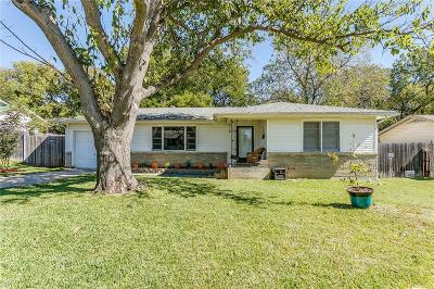 Fort Worth Single Family Home For Sale: 4009 Fairfax Street
