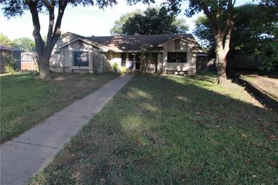 Mesquite Single Family Home For Sale: 1620 Oxford Place