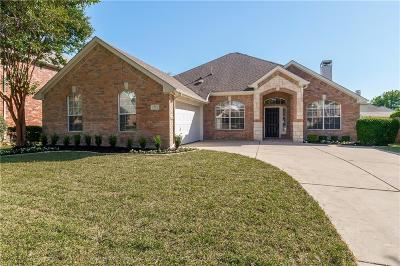 Keller Single Family Home For Sale: 1214 Limestone Creek Drive