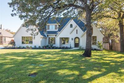 Colleyville Single Family Home Active Contingent: 3913 Felps Drive