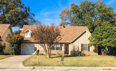 Denton Single Family Home For Sale: 513 Chisholm Trail