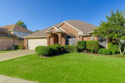 Keller Single Family Home Active Option Contract: 714 Carmel Drive