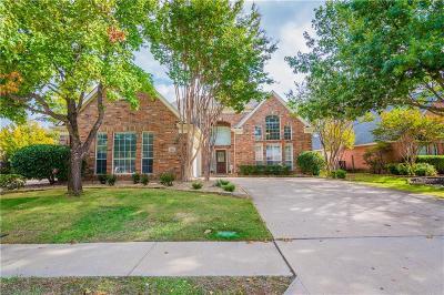 McKinney Single Family Home For Sale: 1601 Cross Point Road