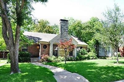 Dallas Single Family Home For Sale: 6128 Ellsworth Avenue