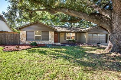 Farmers Branch Single Family Home For Sale: 2822 Sunny Hill Lane