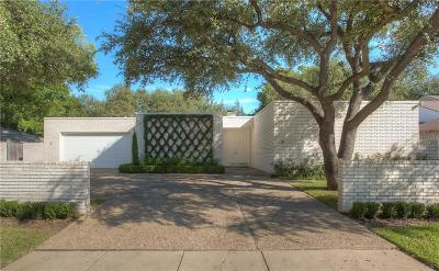 Fort Worth Single Family Home Active Option Contract: 5312 Northcrest Road