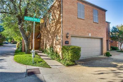 Dallas Single Family Home For Sale: 5734 Remington Park Square