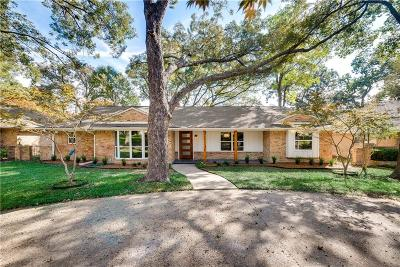 Dallas Single Family Home For Sale: 9746 Ravensway Drive