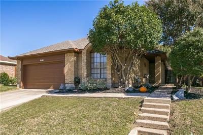 Dallas Single Family Home For Sale: 18448 Michaelangelo Drive
