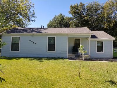 Dallas TX Single Family Home For Sale: $110,000