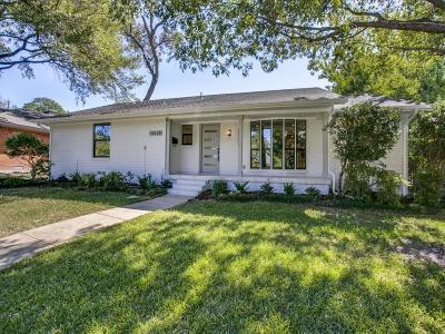 Dallas Single Family Home For Sale: 10528 Silverock Drive