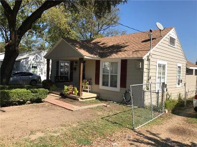 Dallas TX Single Family Home For Sale: $146,000
