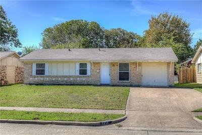 Mesquite Single Family Home For Sale: 1213 Eastside Drive