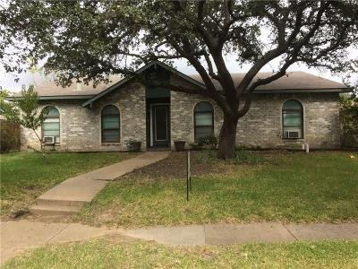 Carrollton Single Family Home For Sale: 2921 Mill Trail