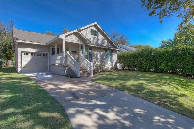 Fort Worth Single Family Home For Sale: 4312 Donnelly Avenue