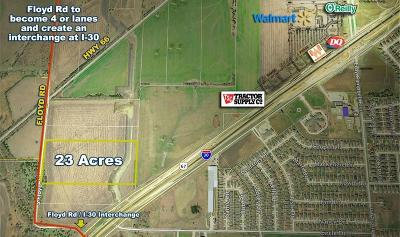 Royse City Commercial Lots & Land For Sale: 1 Floyd Road