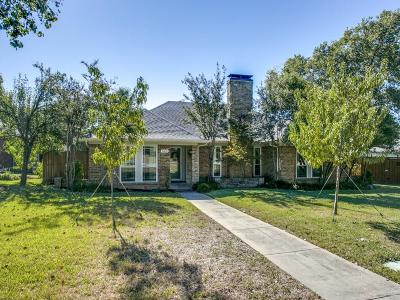 Frisco Single Family Home Active Option Contract: 8101 Whitewing Drive