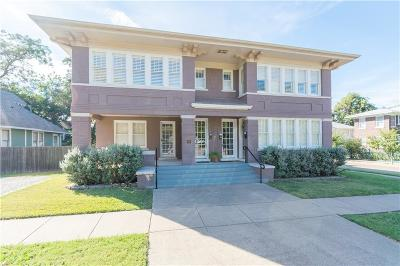 Fort Worth Single Family Home For Sale: 2200 College Avenue #101