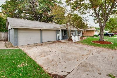 Farmers Branch Single Family Home Active Option Contract: 13846 Birchlawn Drive