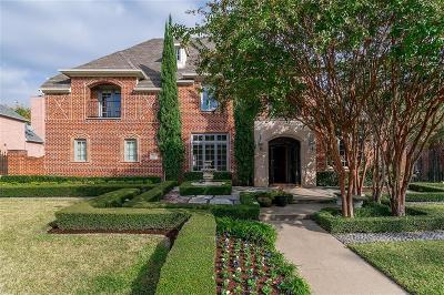 Coppell Single Family Home For Sale: 710 Stratford Lane