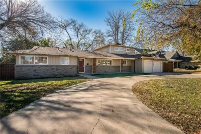 Richland Hills Single Family Home Active Contingent: 7056 Brooks Avenue