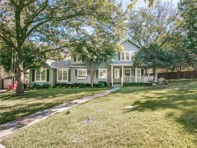 Dallas Single Family Home For Sale: 8702 Cortleigh Place