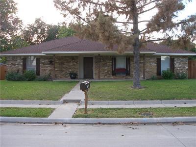 Garland Single Family Home For Sale: 4021 Cedar Creek Drive