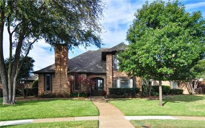 Plano Single Family Home Active Contingent: 3832 Manchester Circle