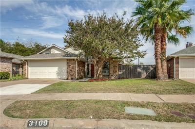 Garland Single Family Home For Sale: 3109 Big Oaks Drive