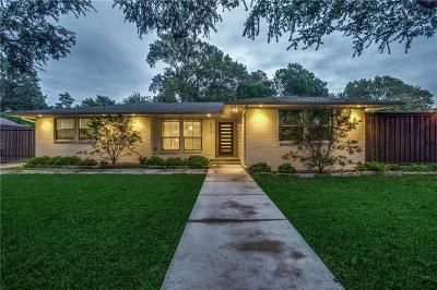 Dallas Single Family Home For Sale: 6510 Oriole Drive