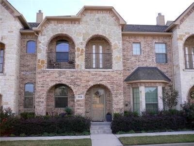 Lewisville Townhouse For Sale: 2518 Adam Lane