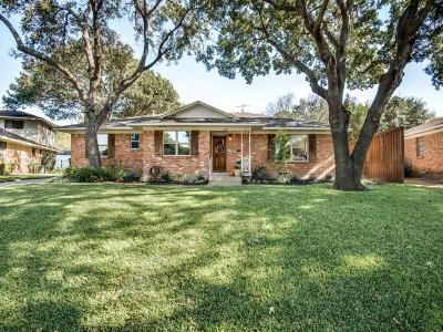 Dallas Single Family Home For Sale: 10854 Waterbridge Circle
