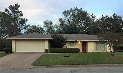 Weatherford Single Family Home For Sale: 1207 Bois D Arc Street