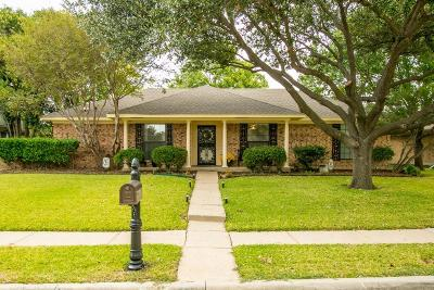 Carrollton Single Family Home Active Option Contract: 2125 Pueblo Drive