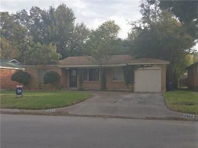 Fort Worth Single Family Home For Sale: 5445 Santa Barbara Avenue