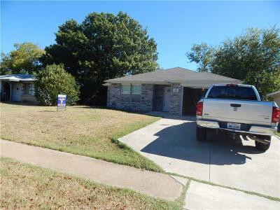 Grand Prairie Single Family Home For Sale: 809 Tuskegee Street