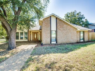 Denton Single Family Home Active Option Contract: 1216 Olmos Creek Place