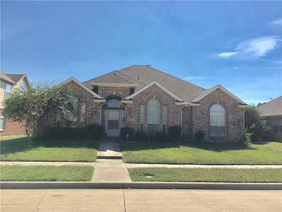 Garland Single Family Home For Sale: 2314 Meredith Lane