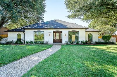 Dallas Single Family Home For Sale: 7330 Roundrock Road