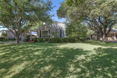 Fort Worth Single Family Home For Sale: 6370 Greenway Road