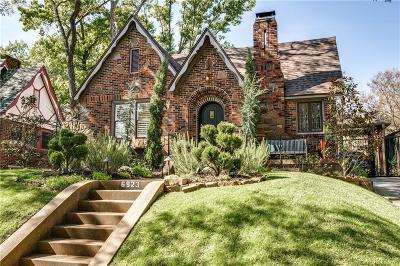 Dallas Single Family Home For Sale: 6923 Vivian Avenue