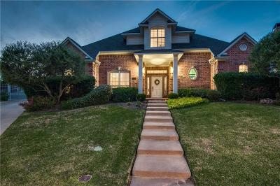 Grapevine Single Family Home Active Contingent: 2612 Abercorn Drive